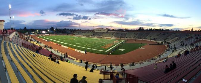 Pre game at Hughes Stadium in Sacramento - 2/28/15